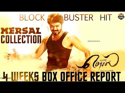 #Mersal Total Box Office Collection After 4 Weeks 👌 - Mind Blowing Collections For Mersal | Mass 👌