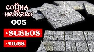 003 Suelos / Tiles (Heroquest - D&D - Pathfinder - Wargames)