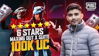 $100,000 UC BLOOD RAVEN X-SUIT Crate Opening | X-SUIT Giveaway | 🔥 PUBG MOBILE🔥