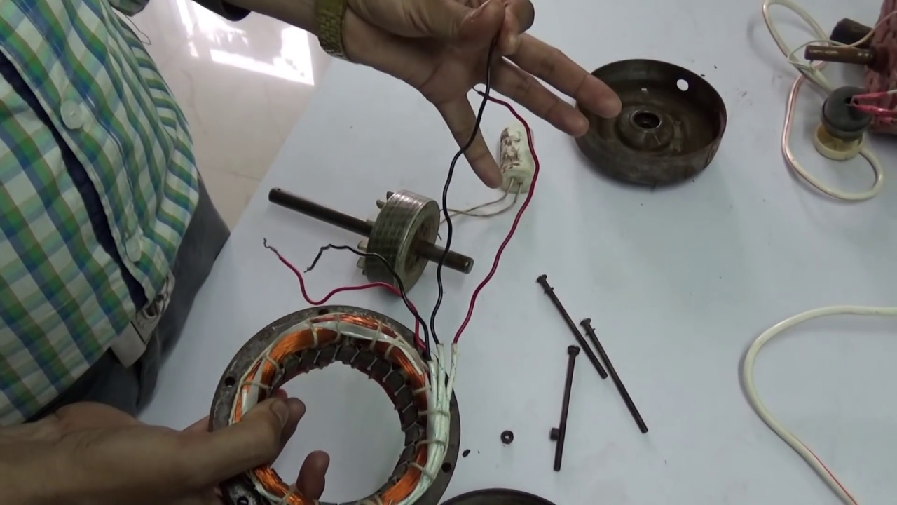 hight resolution of  cooler motor connection coolermotor sandeep agarmor tutorial