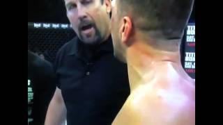 "Big John McCarthy says ""This is not kickboxing"" to Josh Neer after fight"