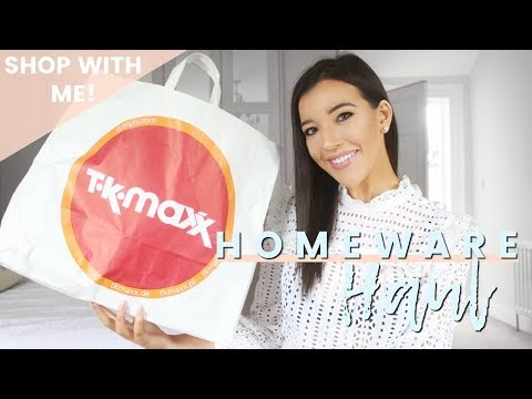 TK MAXX & IKEA 2018 SHOP WITH ME | SUMMER HOMEWARE HAUL