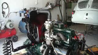 essais moteur 4CV année 1960