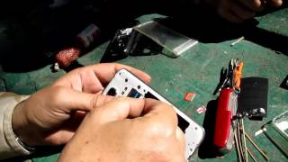 Как сделать MicroSIM из NanoSIM в лесу
