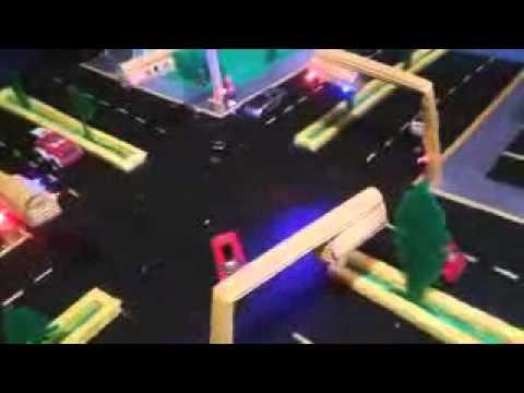 maqueta de semforo 2014  YouTube