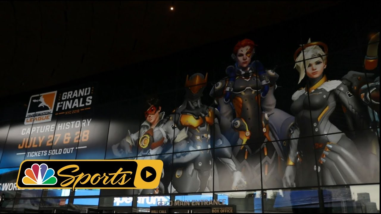 Experiencing the Overwatch League Grand Finals in Brooklyn, NY I NBC Sports