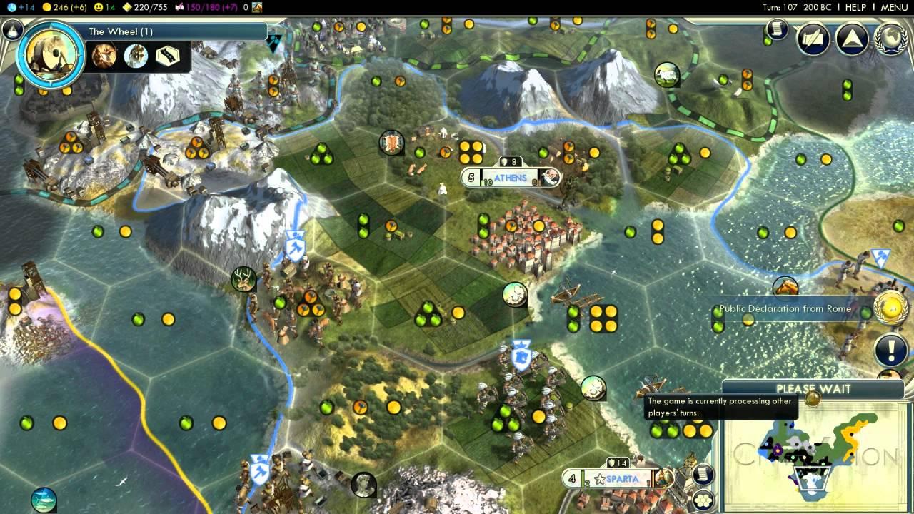 Civilization V Alexander Of Greece Episode 1 Part 6 Not Yet