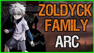 Zoldyck Family Arc - HUNTER X HUNTER RECAP