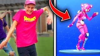 All Season 5 Fortnite Dances IN REAL LIFE! (Fortnite Battle Royale Season 5)