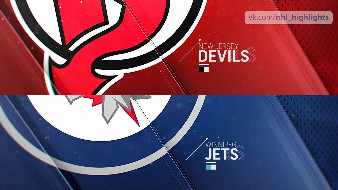 official photos a9966 af733 New Jersey Devils vs Winnipeg Jets Nov 11, 2018 HIGHLIGHTS HD