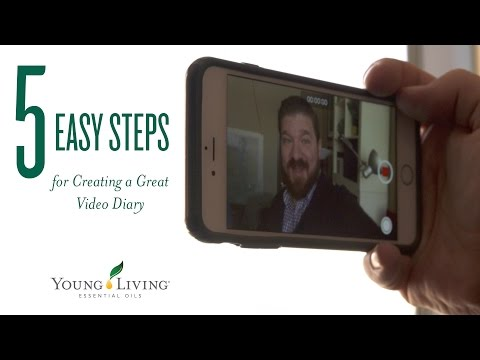 5 Easy Steps for Creating a Great Video Diary