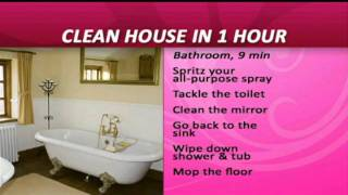 Clean the House in 1 Hour