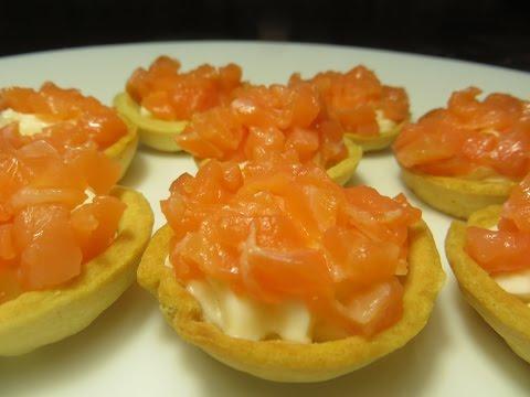 Тарталетки с сыром и