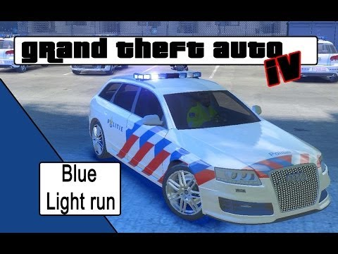 GTA4 Dutch Blue light run