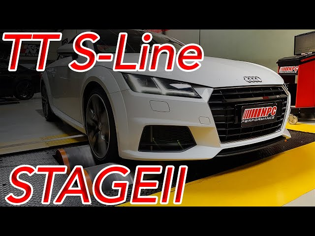 AUDI TT STAGE 2 | NPC PERFORMANCE