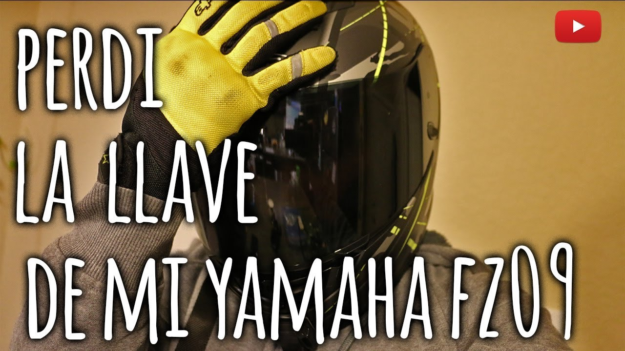 Perdi la llave de mi moto