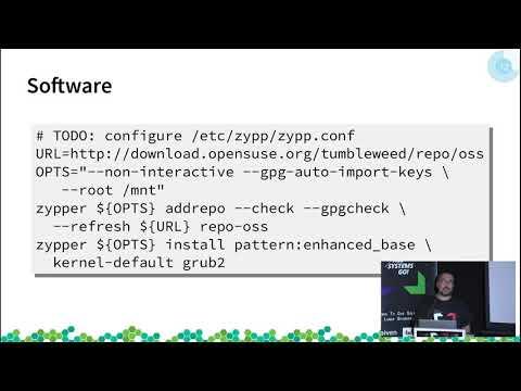 Yomi - an openSUSE installer based on SaltStack