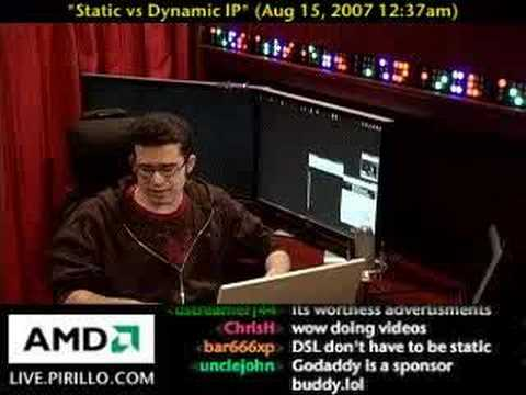 Static vs Dynamic IP