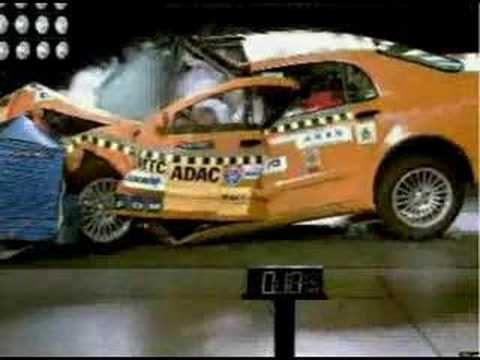 New Chinese Car Crash Test Disaster 2007 Brilliance Bs6 Youtube