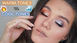 WARM TONES VS. COOL TONES TUTORIAL   WHICH ONE LOOKS BETTER?!