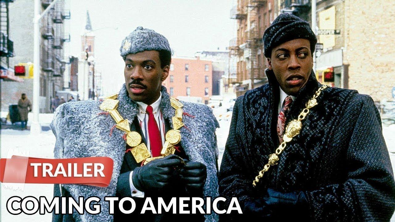 Coming To America 1988 Trailer Hd Eddie Murphy Arsenio Hall Youtube