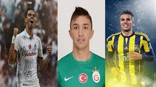 Süper Lig'de Forma Giyen En Kariyerli 20 Futbolcu