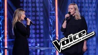 Agnes Stock vs. Malin Joneid Ellefsen - Love The Way You Lie | The Voice Norge 2017 | Duell