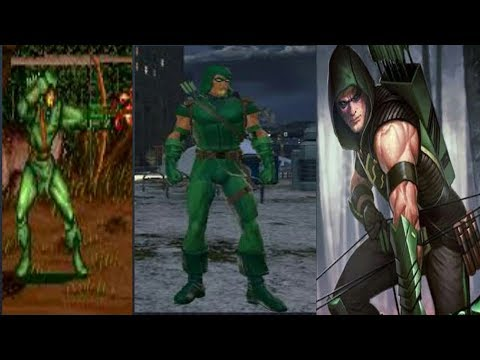 Evolution Of Green Arrow In Games [1995 - 2017]
