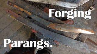 Video Blacksmith: Forging a Parang. download MP3, 3GP, MP4, WEBM, AVI, FLV April 2018