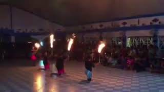 Maui youth fire dance 2k17 Youth Rally