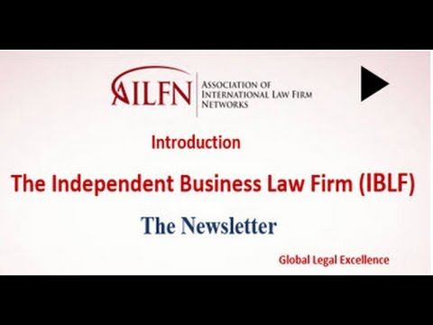 AILFN - Independent Business Law Firm Newsletter