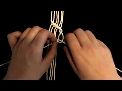 Репсовый узел: диагональные бриды