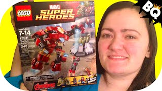 Lego Hulk Buster Smash 76031 Avengers Age Of Ultron Build & Review