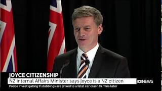 NZ PM Bill English confirms Aus DPM Barnaby Joyce is a citizen by descent