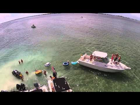 Tavernier Key - Memorial Day Weekend 2015 Aerial Drone Video #2