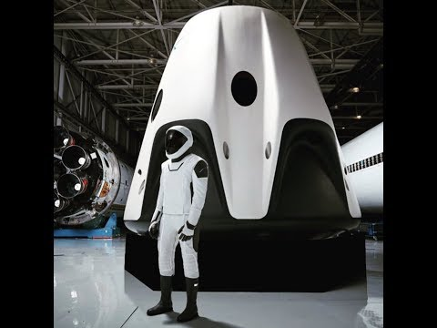 """BREAKING: """"Space X Crew Dragon"""" Spacecraft To Fly Americans Into Space"""""""