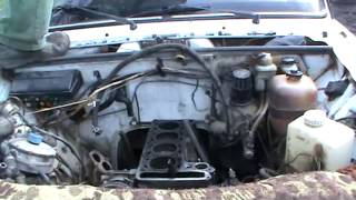 Снятие и разборка двигателя с ВАЗ 2107. Сделай Сам!