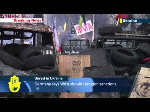 Ukraine Crisis: Kiev protesters don't expect help from abroad in struggle against authoritarianism