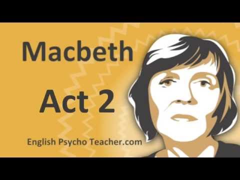 Macbeth Act 2 Summary with Key Quotes & English Subtitles
