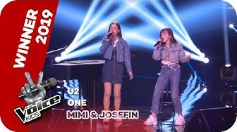 U2 - One (Mimi & Josefin) | WINNER |  The Voice Kids 2019 | SAT.1