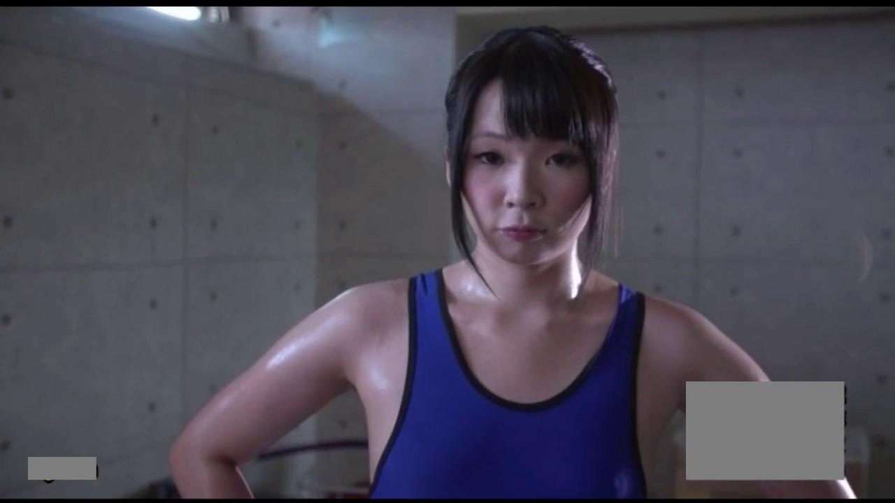 pretty female wrestler's exercise - youtube