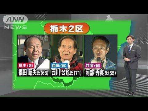 衆院選の注目選挙区】栃木2区 TP...
