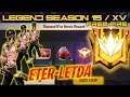 ROAD TO GRAND MASTER 6 JAM NON STOP !!! SEASON 15 FREE FIRE -  LETDA HYPER