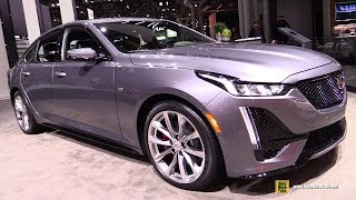 2020 Cadillac CT5 - Exterior and Interior Walkaround - Debut at 2019 NY Auto Show