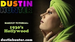 1930's Inspired Hollywood Glamour: Makeup Tutorial