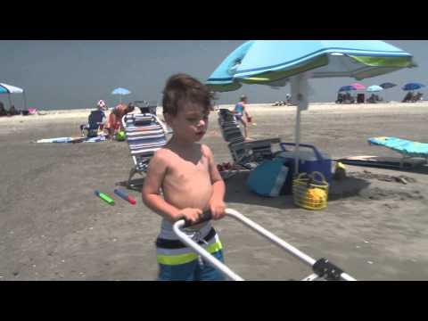 Chandler at Folly Beach (07-11-15)