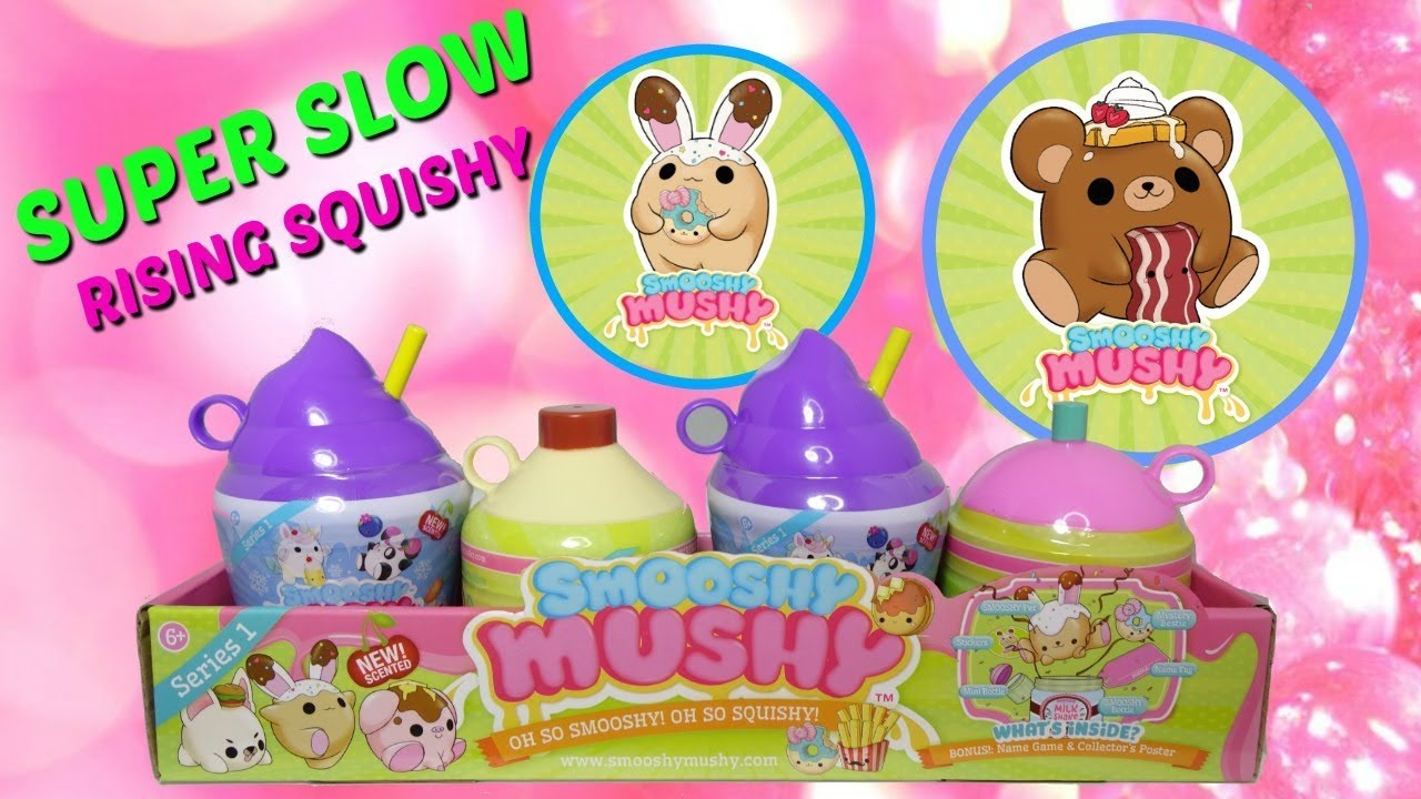 Squishy Mushy Series 3 : Smooshy Mushy Frozen Delights and Smooshy Mushy Pets! Super Slow Rising Squishy and Scented Too ...