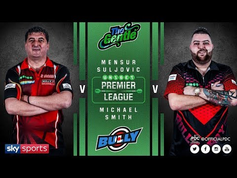 2018 Premier League of Darts Week 3 Suljovic vs Smith
