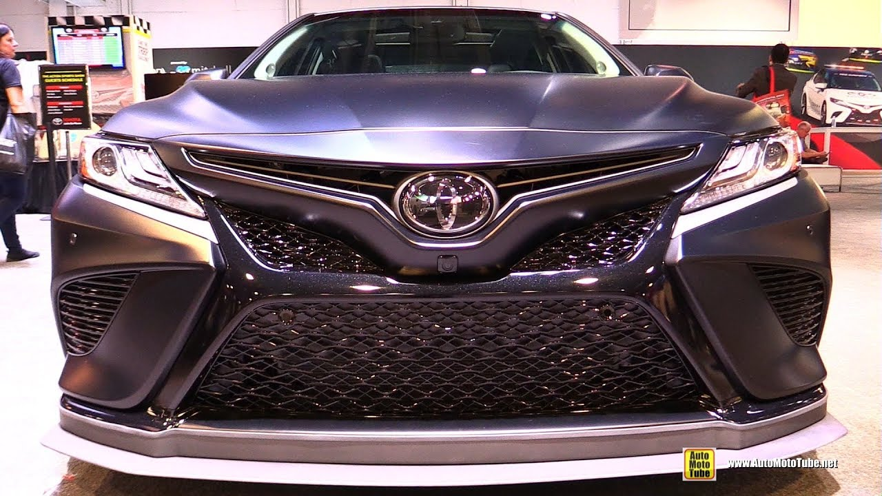 2018 toyota camry trd edition exterior walkaround 2017 sema las vegas youtube. Black Bedroom Furniture Sets. Home Design Ideas