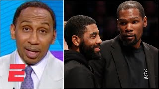 Stephen A.: Kyrie Irving has thrown Kevin Durant under the bus